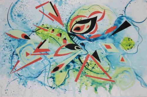 Коллекция работ художника Лены Роговой (66 работ)