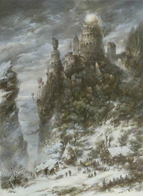 Работы художника Ярослава Гержедовича (100 работ)