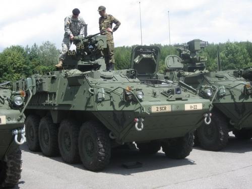 Американский БТР M1126 Stryker ICV (172 фото)