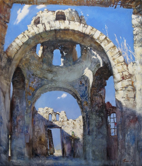 Коллекция работ художника Александра Тюнькина (60 работ)