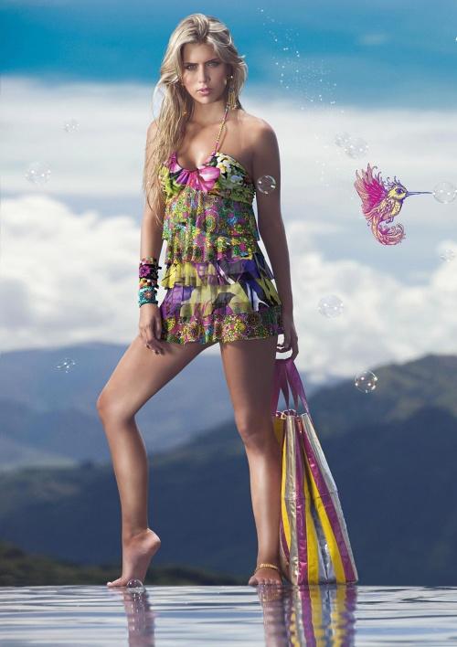 Ana Sofia Henao - Agua Bendita swimwear (19 фото)