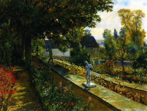 Американский художник Will Hicok Low (1853 – 1932)  (39 работ)