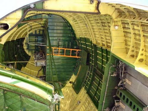 Советский транспортный самолет АН-124-100 (79 фото)