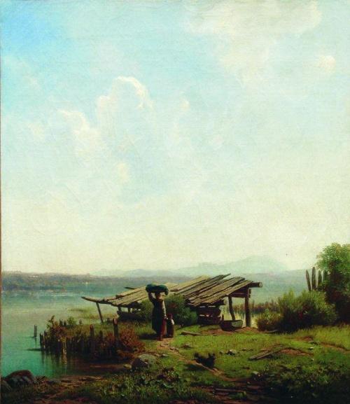 Русские художники - Михаил Константинович Клодт (64 работ)