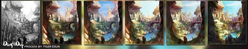 Фентези американского художника под ником Gamefan84 (118 работ)