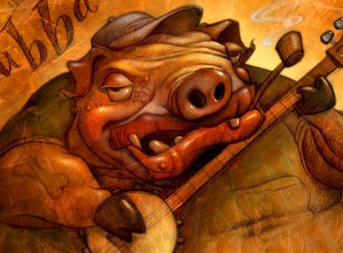 Will Terry Illustrator (98 работ)