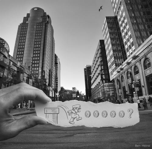 Ben Heine - Pencil Vs Camera (24 работ)