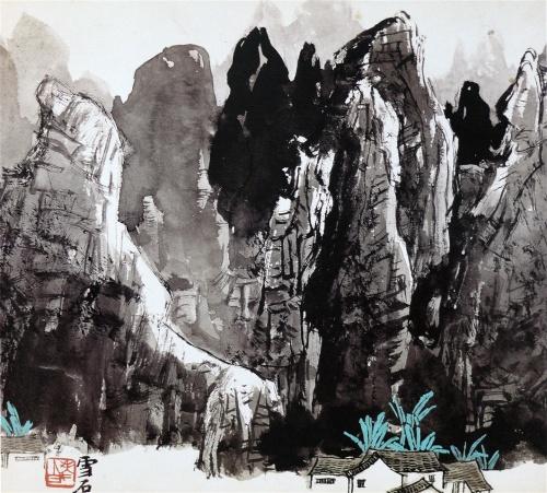 Китайский художник Snow Stone (1915) (157 работ)