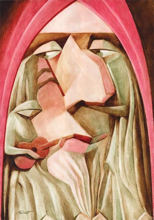Коллекция работ художника Мирата Уразаева (55 работ)