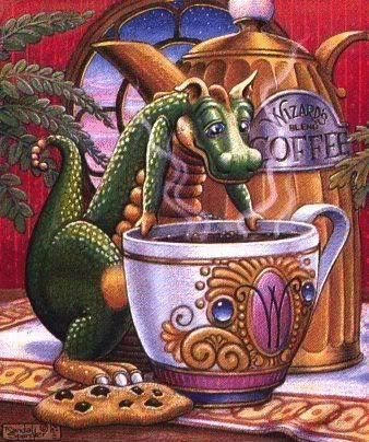 Фантастический мир драконов Рендела Спенглера (135 работ)
