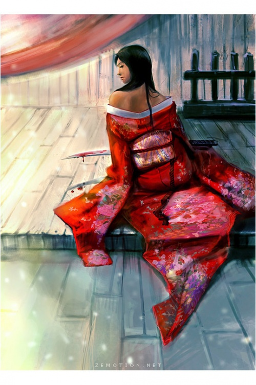 Работы на тему Samurai (79 работ)