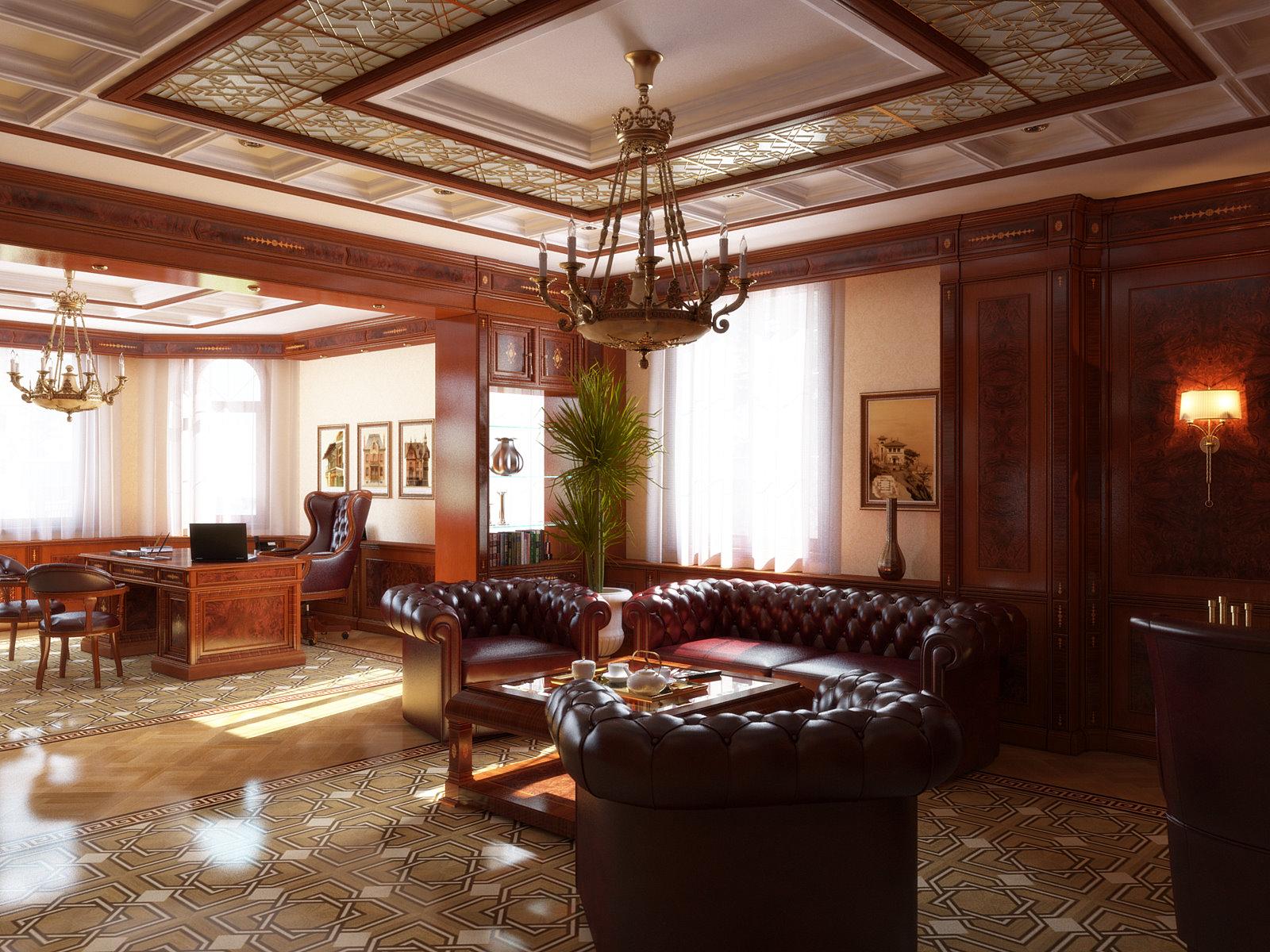Интерьеры богатых домов фото