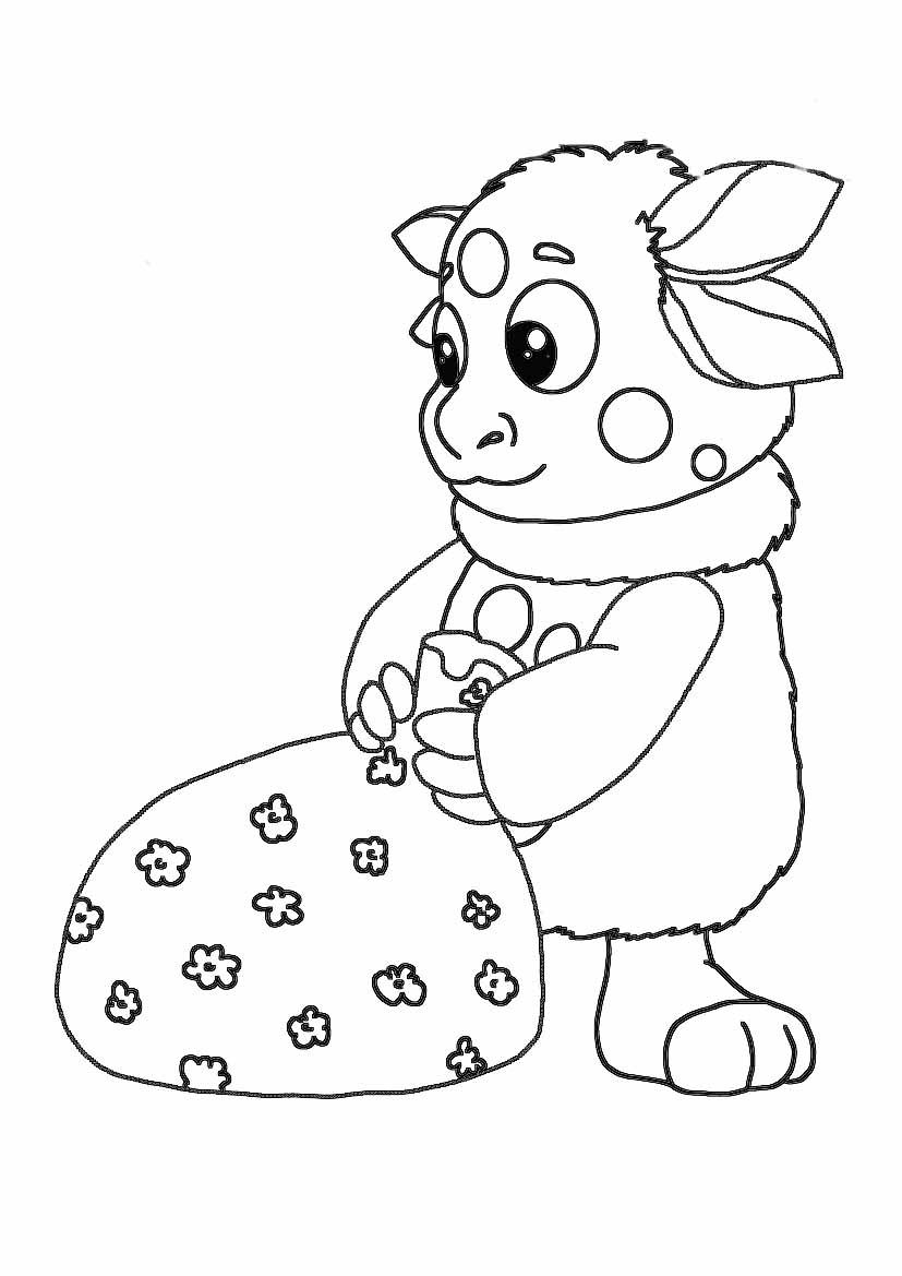 Раскраска о здоровом питании для детей