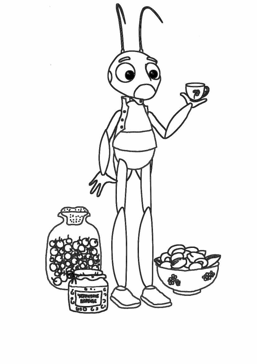 раскраски с героями из мультфильмов 183 работ страница 6
