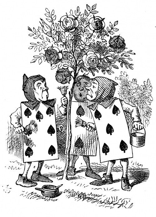 """Льюис Кэрролл """"Алиса в стране чудес"""" - иллюстрации к 1му изданию (43 работ)"""