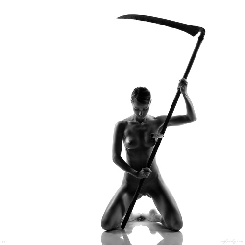 Очень красивое черно-белое ню... (71 фото) (эротика)