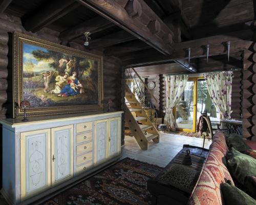 Интерьер загородного дома (18 фото)