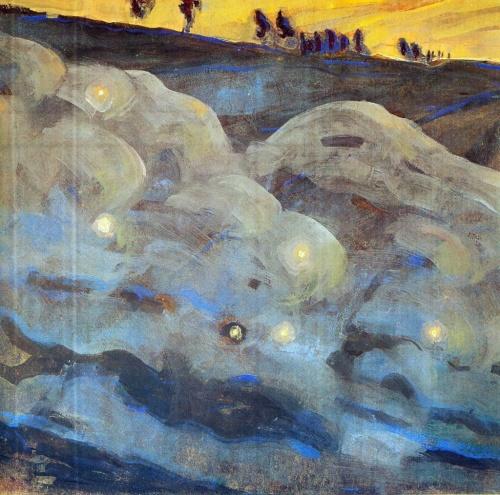 Картины Микалоюса Константинаса Чюрлениса (148 работ)