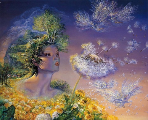 Картины Жозефины Уолл (108 работ)