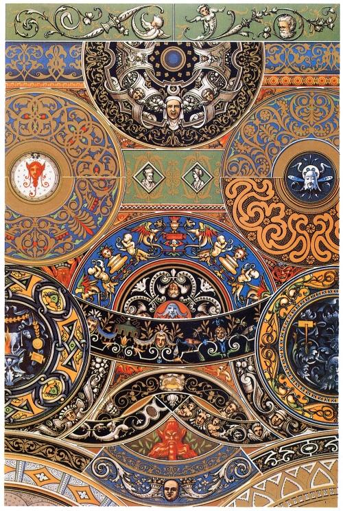 Мировые орнаменты (9 работ)