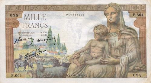 Все банкноты Франции (до ЕВРО) (459 фото)