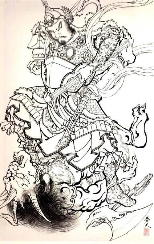 100 Демонов Хориоши Йи (47 работ)