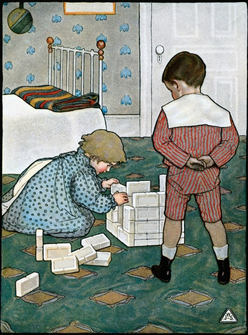 Детки на открытках (46 открыток) (2 часть)