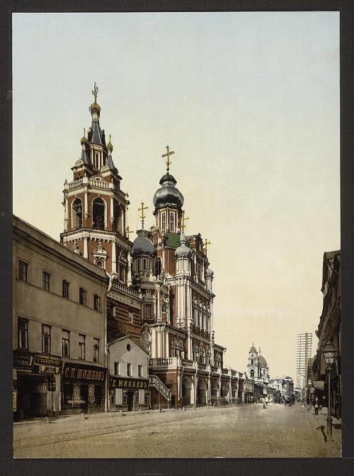 Фотографии Москвы конца 19-го века (13 фото)