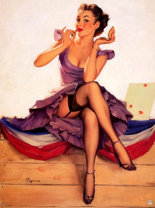 Американский Пинап (107 работ)