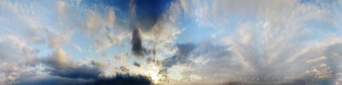Панорамные фотографии неба (25 фото)