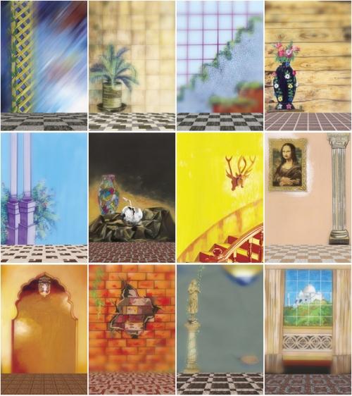 Studio Backgrounds (14 работ)