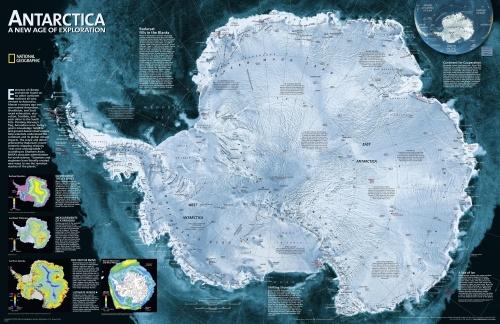 Карты высокого разрешения от National Geographic Society (4 фото)
