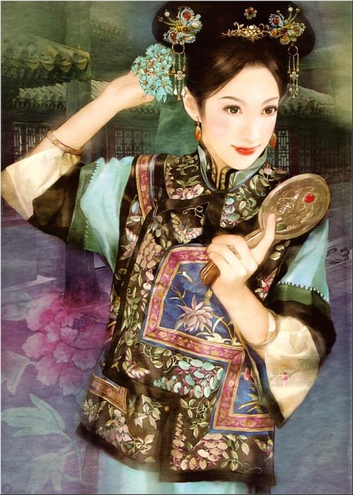 Потрясающие портреты тайваньской художницы Der Jen. Часть 1 (59 работ)