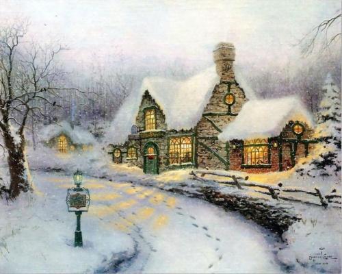 Thomas Kinkade (75 работ)
