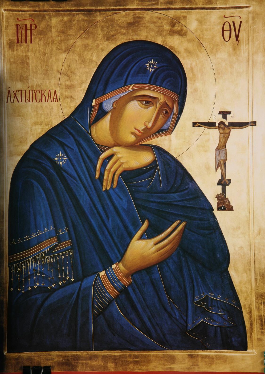Скорбящая божья матерь 21 фотография