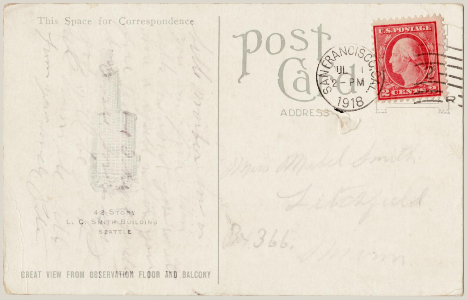 Почтовая открытка- английский перевод - словарь 26