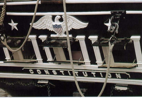 Фотографии корабля «Конституция» (9 фото)