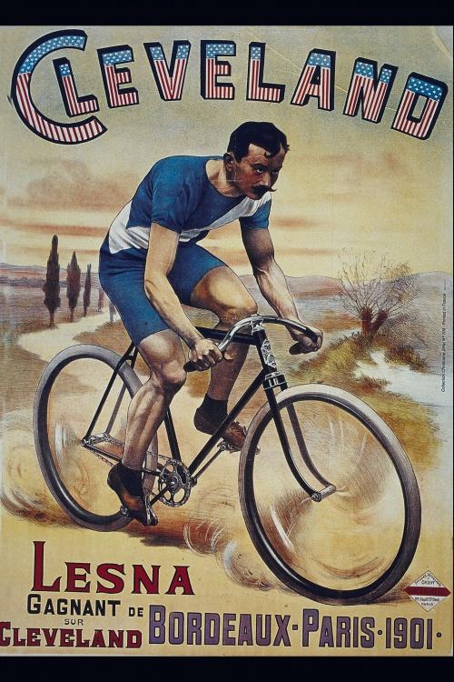 История велосипеда в плакатах.Часть 2 (28 плакатов)
