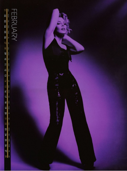 Kylie Minogue Official Calendar 2009 (13 фото)