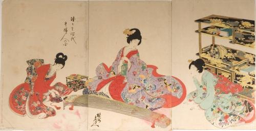 Японская живопись.XIX - начало XX века.Часть 1 (23 работ)