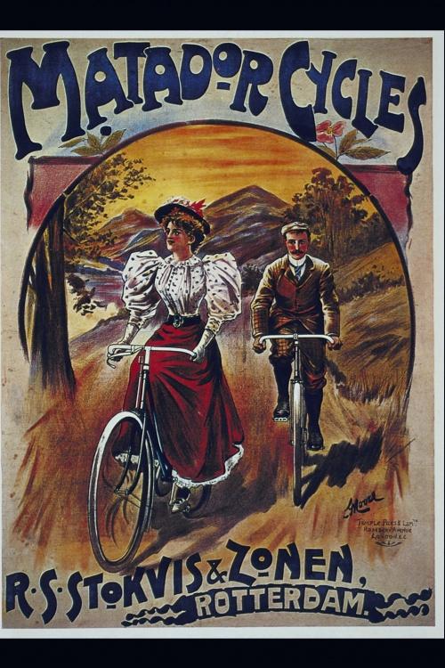 История велосипеда в плакатах.Часть 3 (28 плакатов)