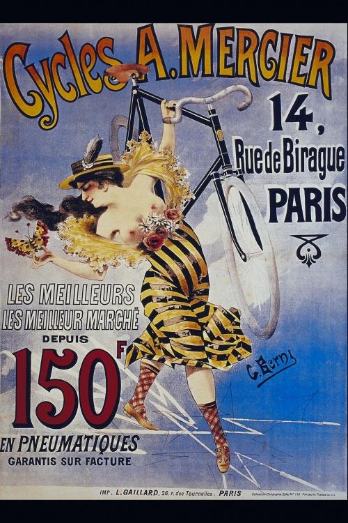 История велосипеда в плакатах.Часть 1 (28 плакатов)