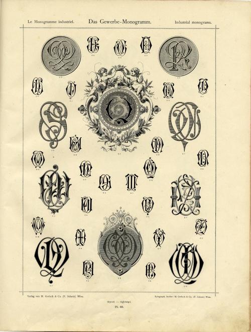 Монограммы по именам, инициалам, видам деятельности, королевской и княжеской символике (70 фото)