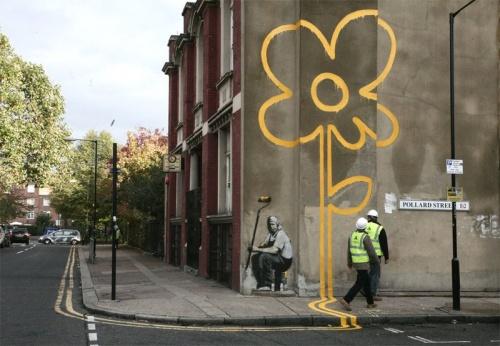 Графити от Бенкси (58 работ)
