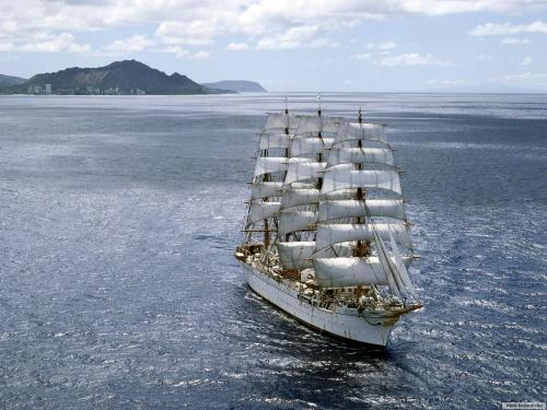 Корабли и парусники (22 фото) (2 часть)