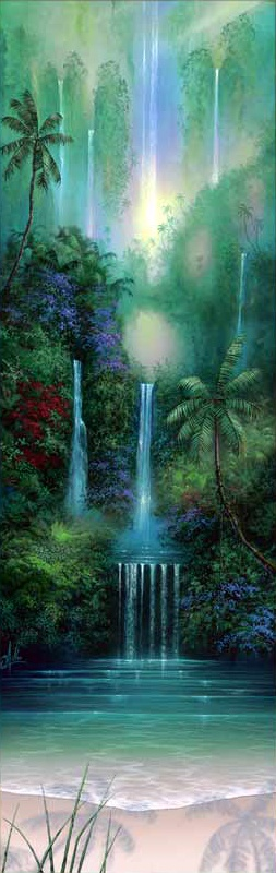 Рай и море... Художник David Miller (42 работ)