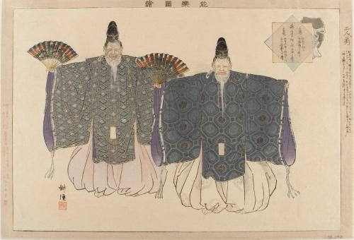 Японская живопись.XIX - начало XX века.Часть 4 (23 работ)