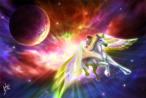 Волшебные и сказочные картинки (27 работ)