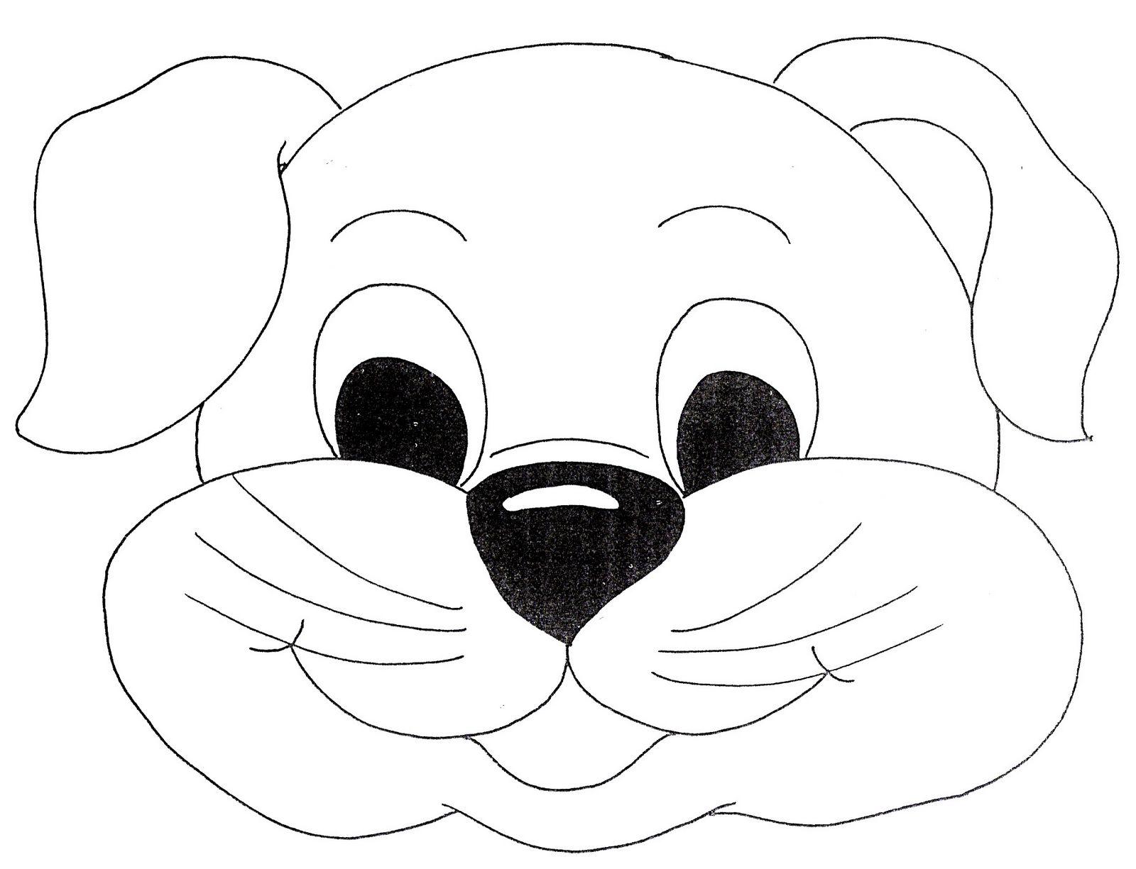 картинка маска собаки распечатать длинных грузов