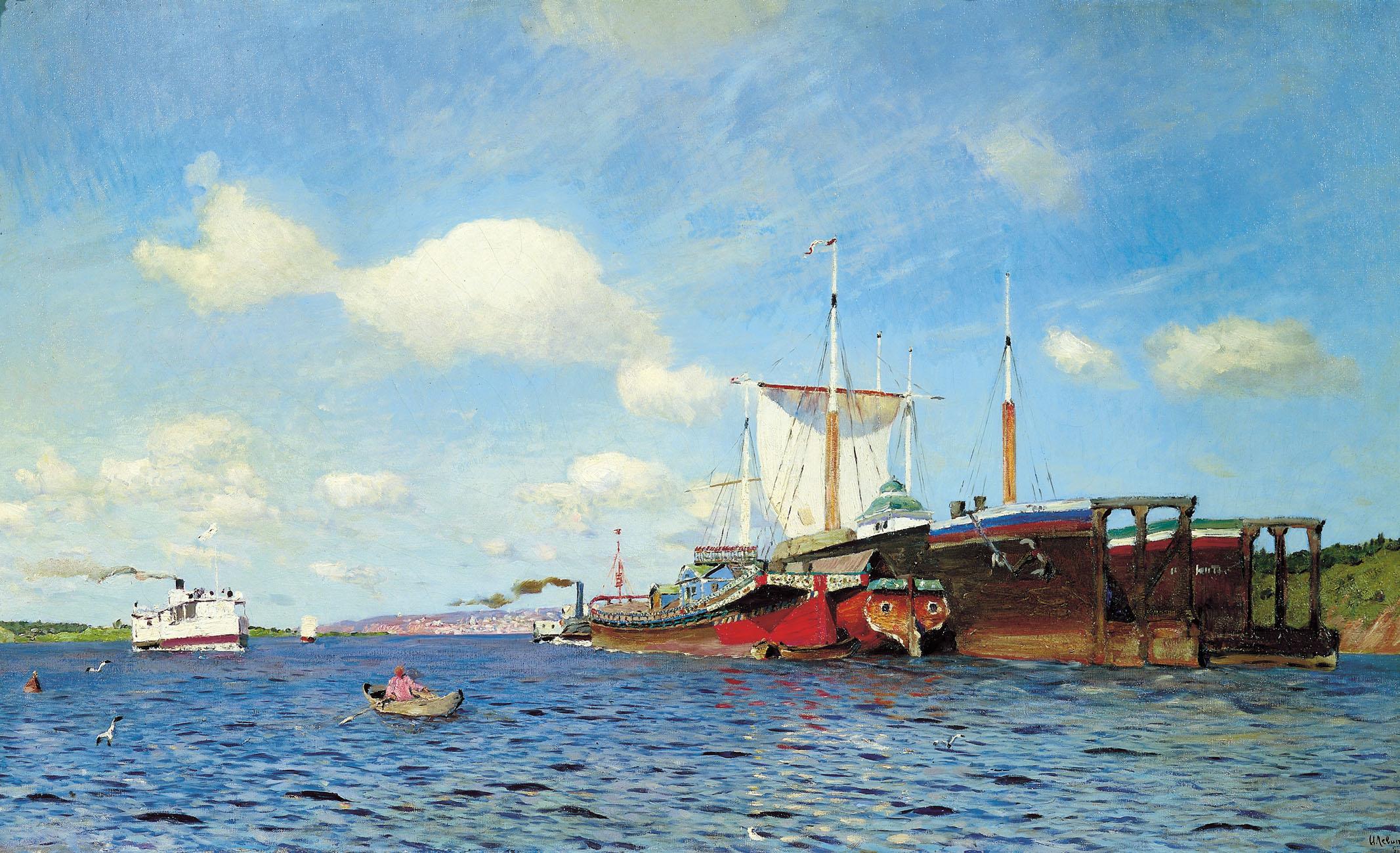 Подборка картин Исаака Левитана (13 работ) » Картины, художники, фотографы на Nevsepic